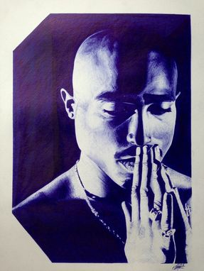 Custom Made Ballpoint Pen Drawings