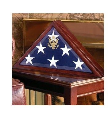 Buy a Hand Crafted Flag Case And Military Medals Display