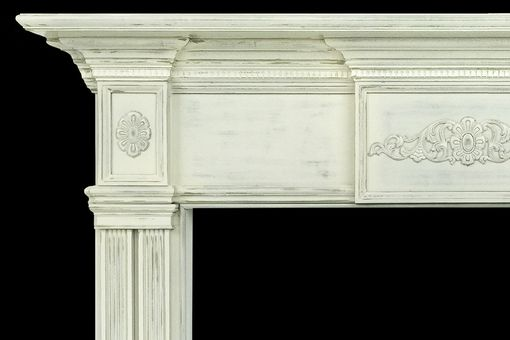 Custom Made Traditional Memphis Wood Mantel