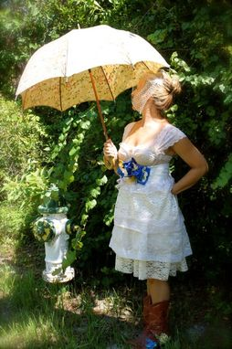Custom Made Wedding Dress- Southern Sweetie Style