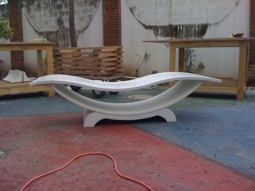 Custom Made Concrete Lounge Chair