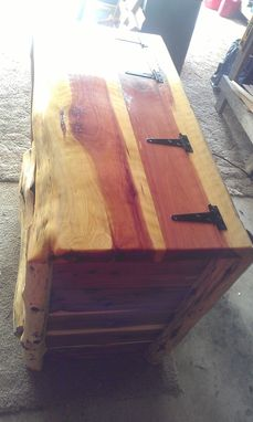 Custom Made Red Cedar Chest