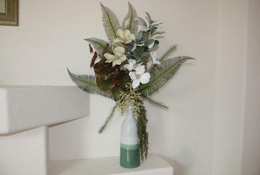 Handmade Tropical Decor Large Silk Flower Arrangement