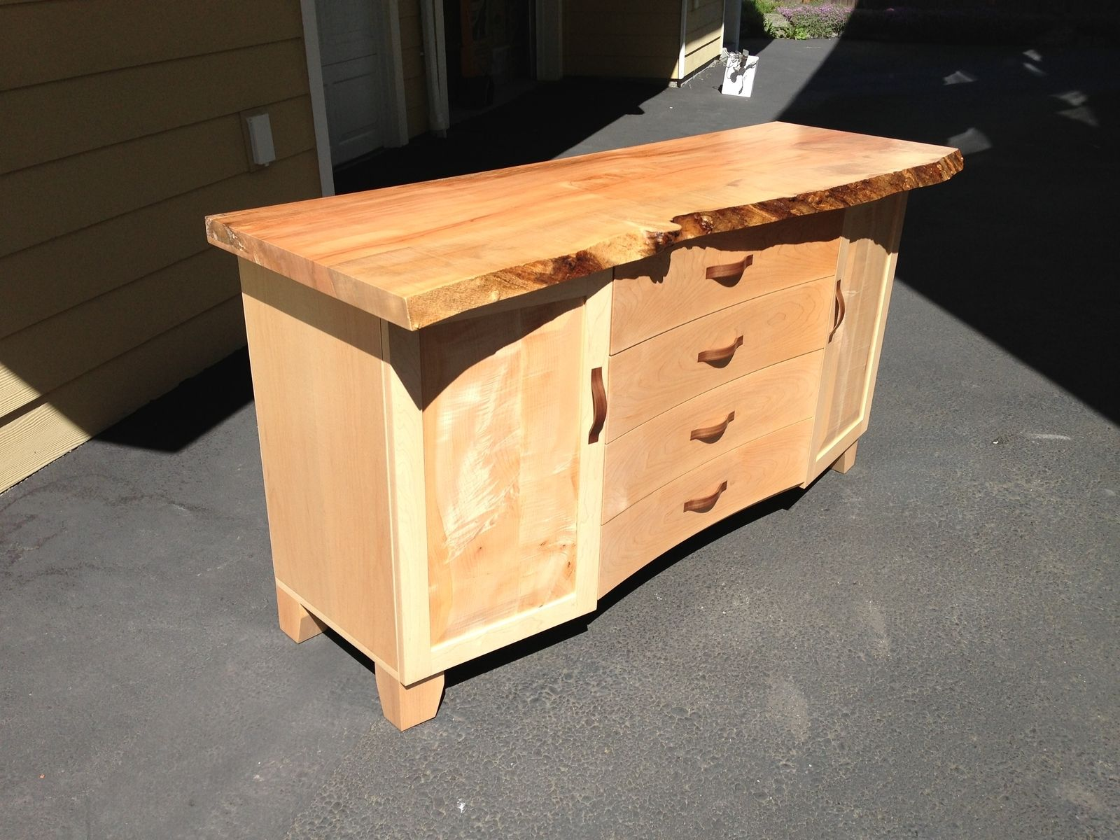 Handmade Maple Buffet Cabinet by Hurst Concepts, LLC | CustomMade.com