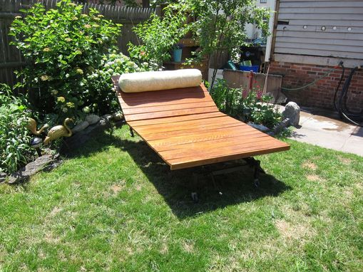 Custom Made Adjustable Double Lounger