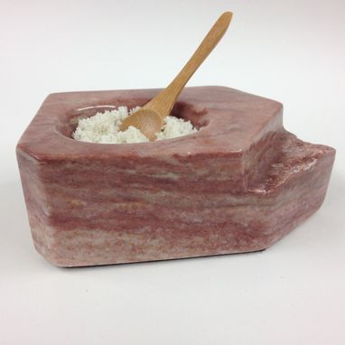 Custom Made Salt Cellars Carved Out Of Stone