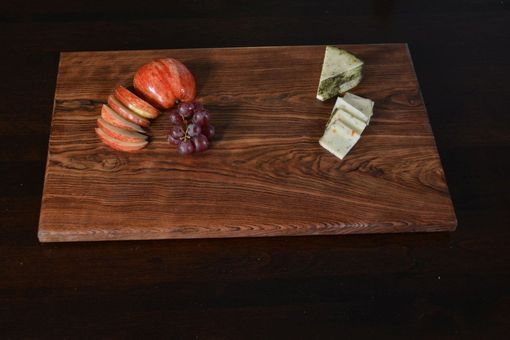 Custom Made Caribbean Rosewood Cutting And Serving Board