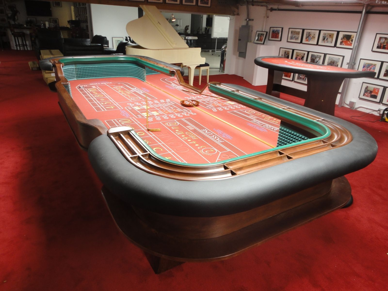 Hand Made Casino Room For Auto Museum In California By American Table Games Custommade Com