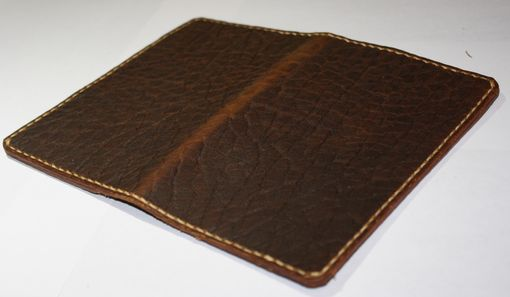 Custom Made Jp Leathercraft Handmade Bison Leather Case Cover Field Notes Moleskine Folklore