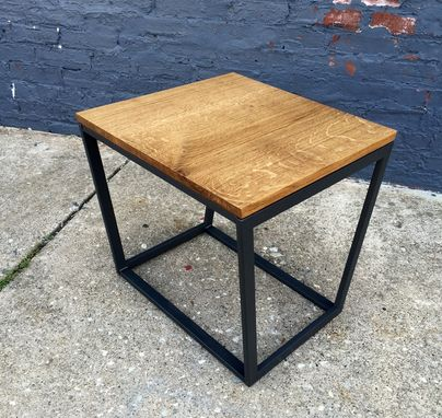 Custom Made Tapered Cube Side Table(S)
