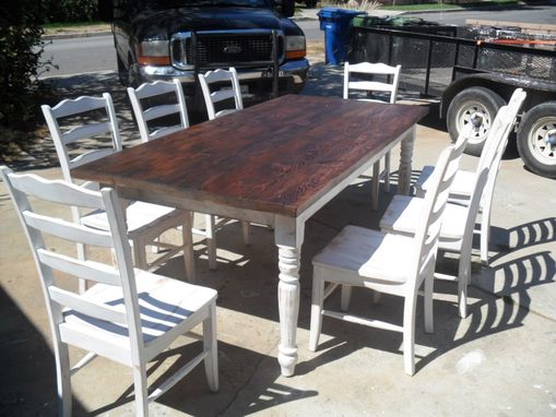 Custom Made Reclaimed Wood Dining Table And Chairs Custom Made In The Usa From Reclaimed Wood
