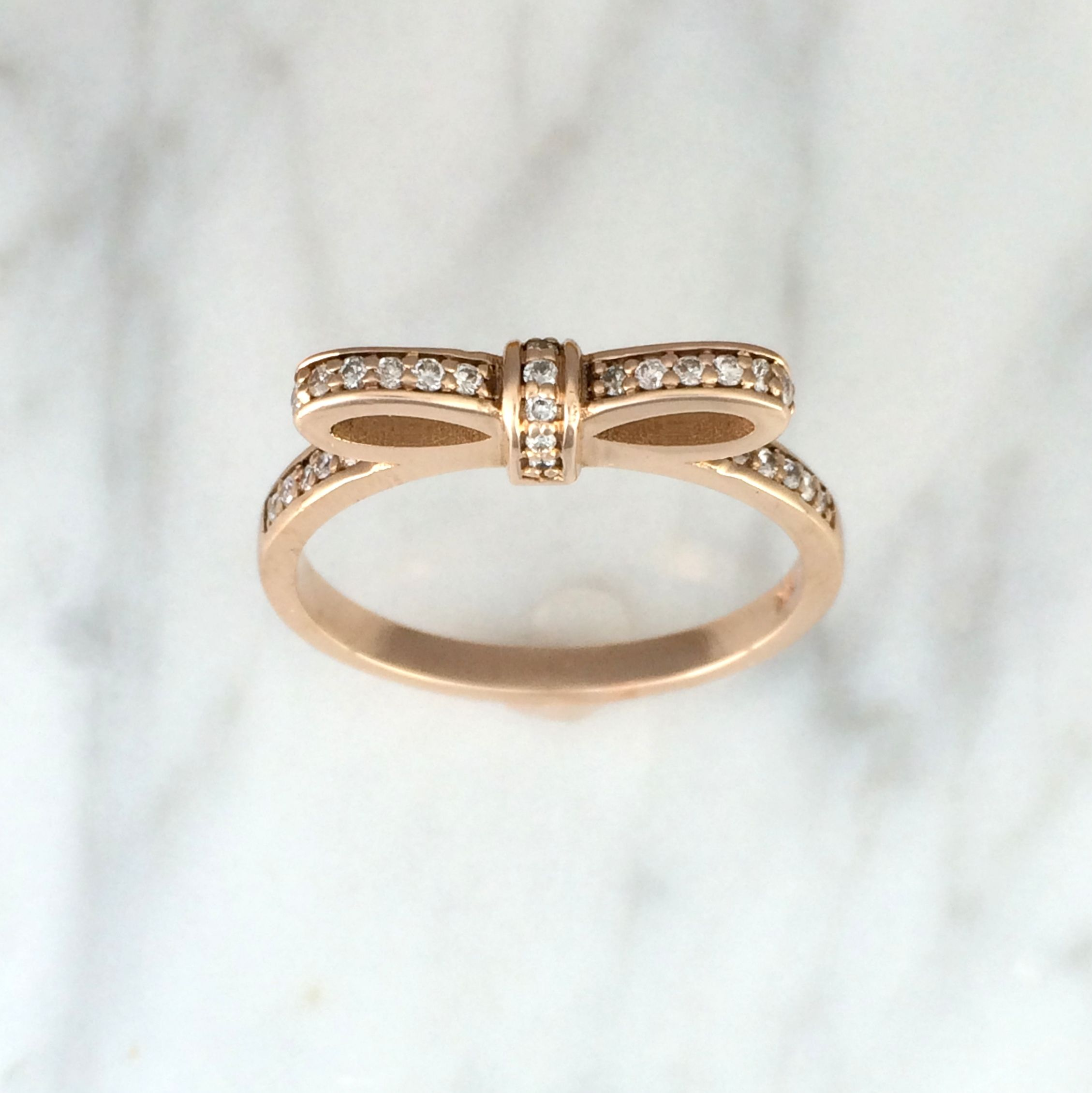 bands ring eternity diamond wedding band pav rose pave petite side in gold