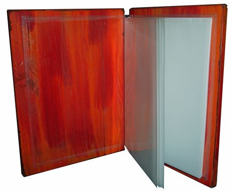 Custom Made Wooden Covered Photo Albums