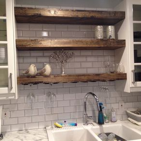 Rustic Shelves Reclaimed Shelf And Shelving Custommade