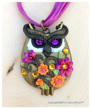 Custom Made Owls - Wearable Art