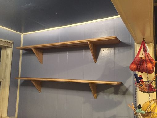 Custom Made Joined Shelves