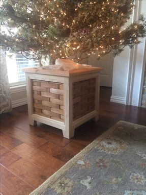 Buy a Custom Christmas Tree Stand/Storage Box/Indoor Planter, made to order from Ernie & Co ...