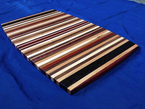 Custom Made Custom Cutting Board Exotic And Domestic Woods