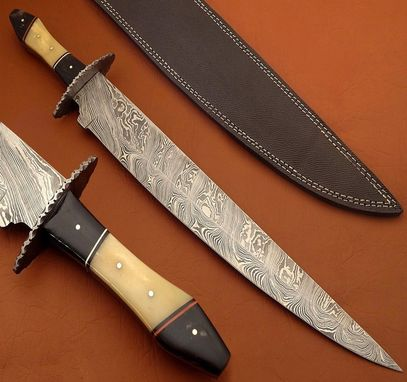 Custom Made Custom Made Damascus Small Sword
