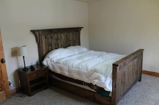 Custom Made Reclaimed Wood Beds