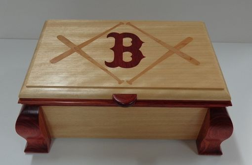 Custom Made Commissioned Set Of Three Keepsake Boxes