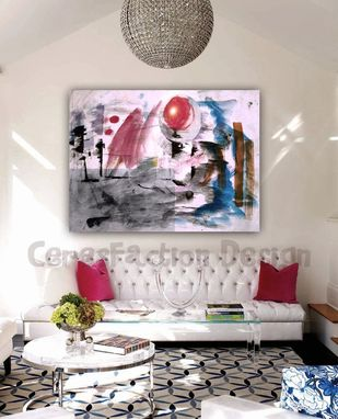 Custom Made Flamix - Original Handmade Painting On Canvas 170x130cm