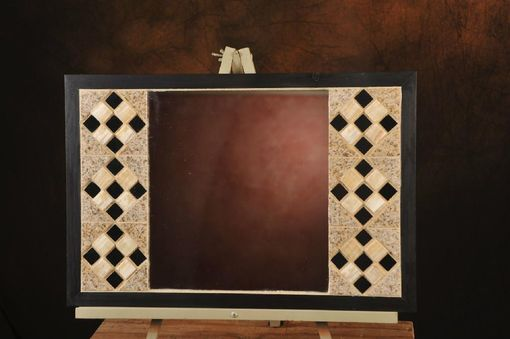 Custom Made Tile Mosaic Mirror
