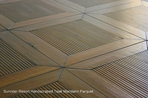 Custom Made Custom Mandarin Parquet