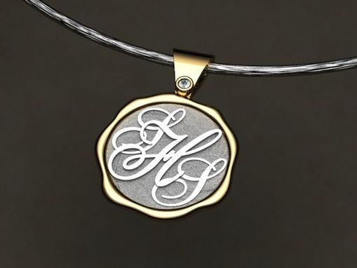 Custom Made Custom Necklace With Initials