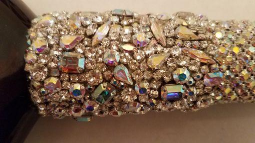 Hand Crafted Rhinestone Walking Cane Swarovski Crystal