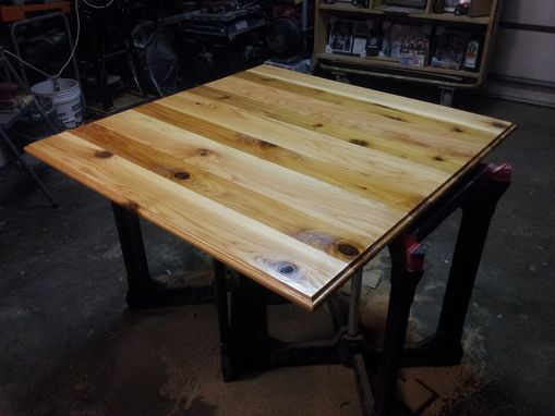 Custom Made Cedar Table Top