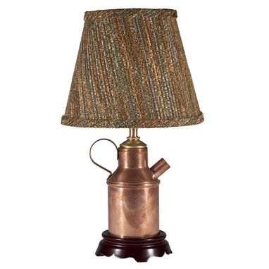 Custom Made Vintage Brass Boat Prop Lamp