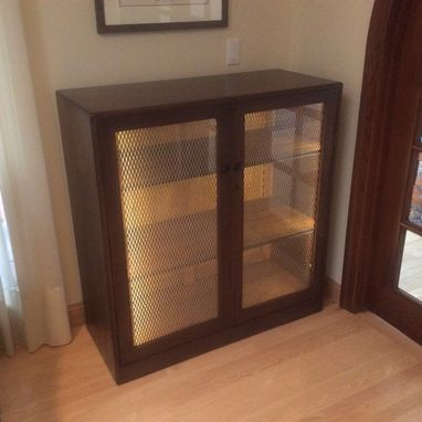 Custom Made Scotch Display Cabinet (Wood)