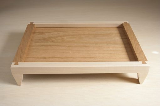 Custom Made Maple And Cherry Dovetail Organizer Tray