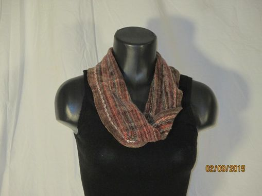 Custom Made Warm And Cozy Handwoven Short Mobius Scarf