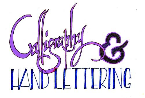 Custom Made Calligraphy & Hand Lettering