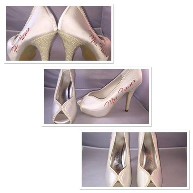 Custom Made Personalized Wedding Heels