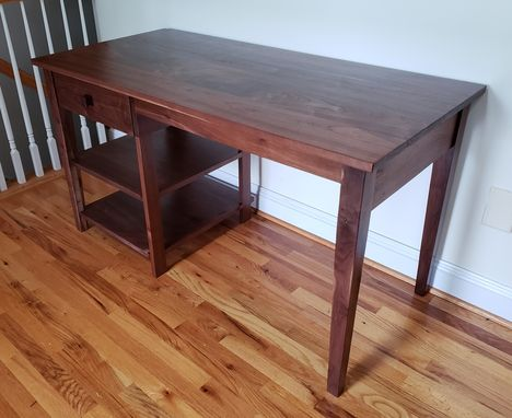 Custom Made Solid Walnut Desk