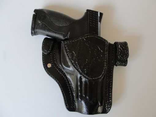 Custom Made Leather Hand Made Holster For Mp40
