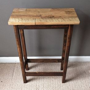 Wood Entry Table reclaimed wood entry tables, hall tables and accent tables