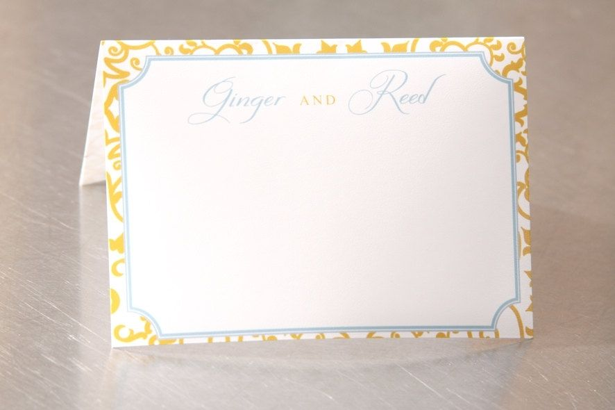 custom made wedding place cards blank personalized formal pattern escort cards custom designed - Custom Place Cards