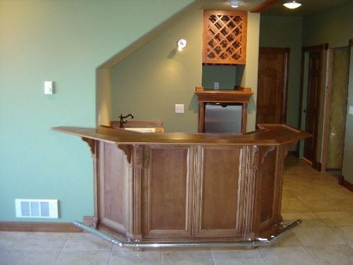 Custom Made Home Bar