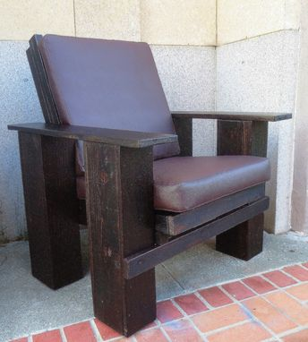 Custom Made Barnwood Chair