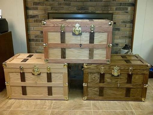 Custom Made Custom Steamer Trunks
