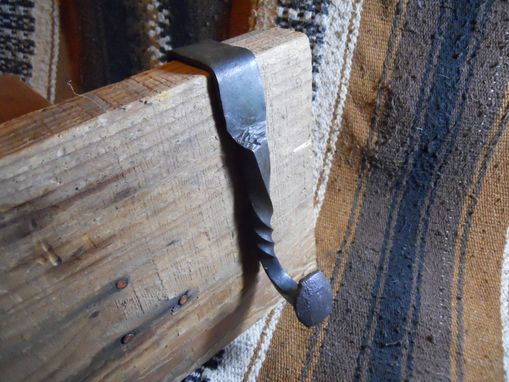 Custom Made Railroad Spike Door Hook.