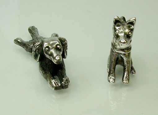 Custom Made Custom Made Silver Pet Dogs