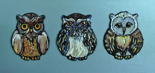 Custom Made Hoot Owl Painting