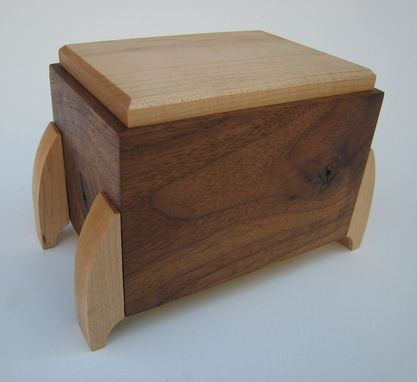 Custom Made Pet Cremation Urn In Stock Ready To Ship By Studio 1212 Furniture