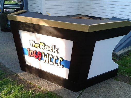 Custom Made Wccc Radio Station Interview Stand
