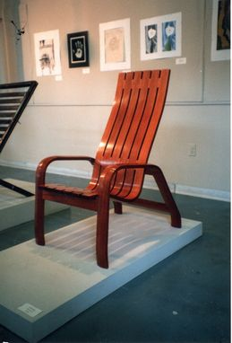 Custom Made Mahogany Chair